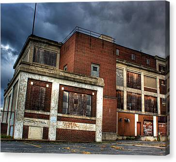 Abandoned In Hdr Canvas Print by Tim Buisman