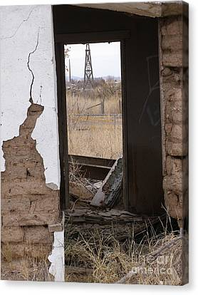 Abandoned In Texas Canvas Print