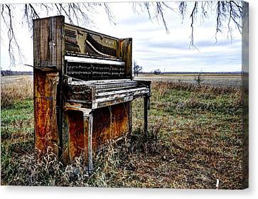 Abandoned Canvas Print by Jean Hutchison
