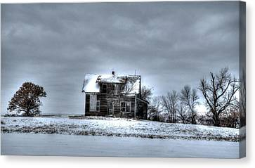 Canvas Print featuring the photograph Abandoned  by Kevin Bone