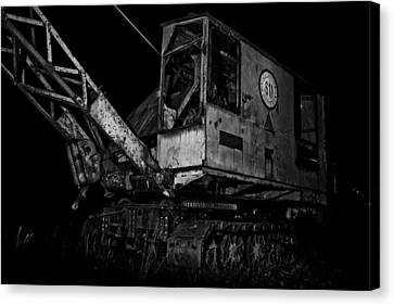Abandoned Machine Canvas Print by Michael  Bjerg and Alex Vendelbo