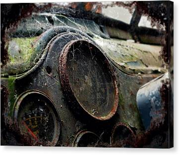 Canvas Print featuring the photograph Abandoned by Micki Findlay