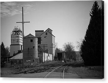 Abandoned Mill Canvas Print by Richard LaVere