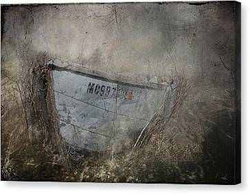 Abandoned On Sugar Island Michigan Canvas Print by Evie Carrier