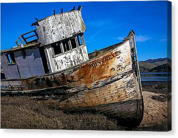 Abandoned Point Reyes Canvas Print by Garry Gay