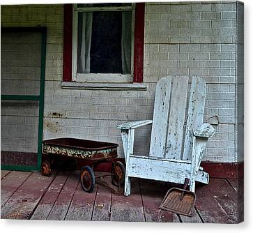 Abandoned Canvas Print by Frozen in Time Fine Art Photography