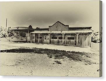 Abandoned Station Canvas Print