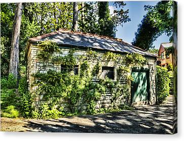 Abandoned Canvas Print by Steve Purnell