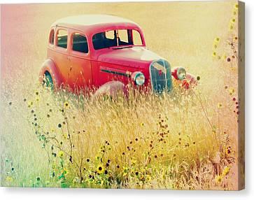Abandoned Treasure Canvas Print