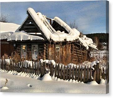 Abandoned Canvas Print by Vladimir Kholostykh