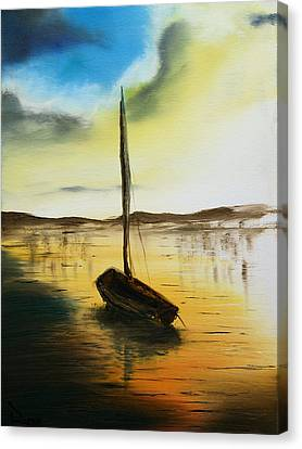Abandoned Waters Canvas Print by Rafay Zafer