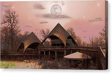 Abandoned Zoo Canvas Print