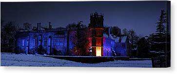 Abbey At Night Canvas Print by John Chivers