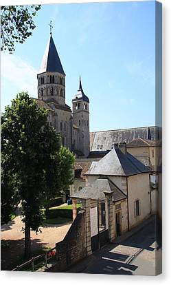 Abbey Cluny  Canvas Print by Christiane Schulze Art And Photography