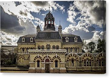 Abbey Mills Pumping Station Canvas Print by Heather Applegate