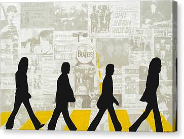 Abbey Road Canvas Print by Bryan Dubreuiel