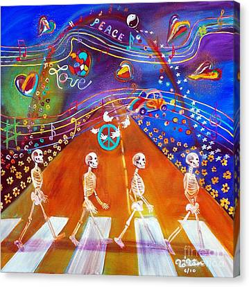 Abbey Road In 50 Years Canvas Print by To-Tam Gerwe