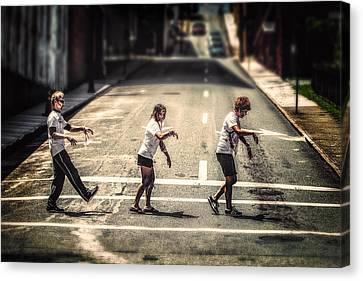 Abbey Road Canvas Print by Joshua Minso