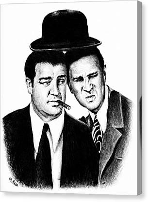 Abbott And Costello Canvas Print