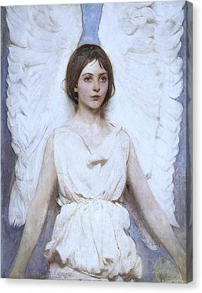 Abbott Handerson Thayer Angel 1886 Canvas Print