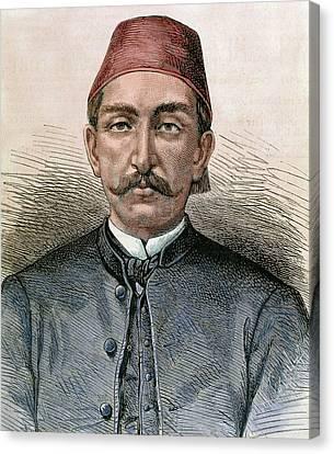 Abdul Hamid II (1842-1918 Canvas Print by Prisma Archivo