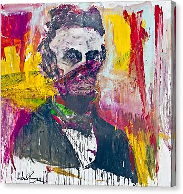Abe Lincoln - By Adam Brett Canvas Print