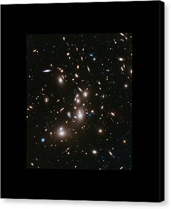Abell 2477 Massive Galaxy Cluster Canvas Print by L Brown