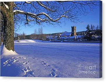 Aberlour Winter Canvas Print by Phil Banks
