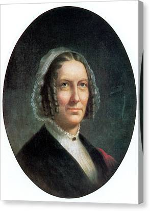 First Ladies Canvas Print - Abigail Fillmore, First Lady by Science Source