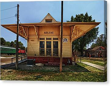 Abilene Station Canvas Print by Mary Jo Allen
