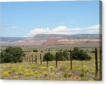 Abiquiu, New Mexico Canvas Print by Gordon Beck