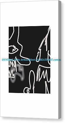 Ablaz Elektro Dz Deux Canvas Print