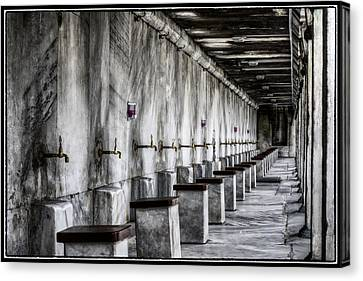 Ablutions Canvas Print