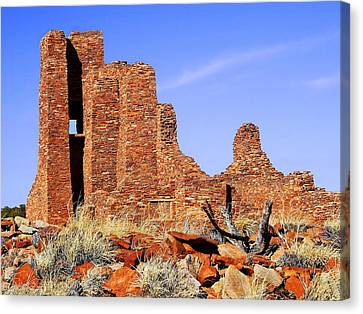 Abo Mission Ruins Canvas Print by Terril Heilman