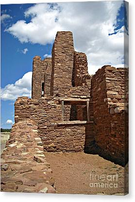 Abo Stone Tower Canvas Print