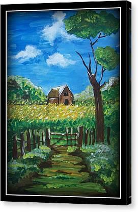 Abode Canvas Print by Juna Dutta