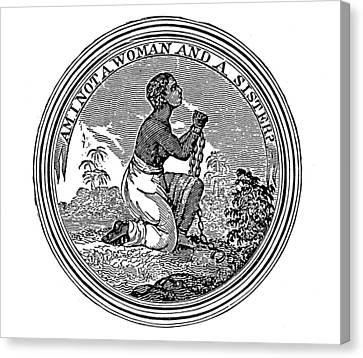 Abolition Emblem, 1837 Canvas Print