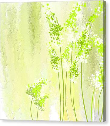 About Spring Canvas Print by Lourry Legarde