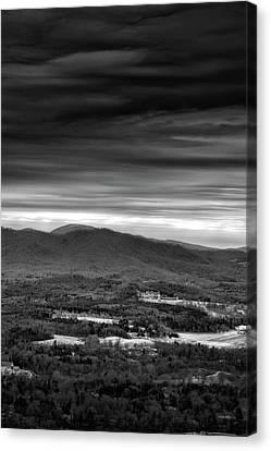 Above Asheville Canvas Print