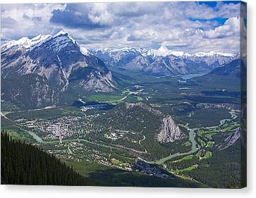 Above Banff Canvas Print