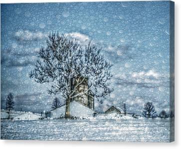 Above Barto Winter Canvas Print by Trish Tritz