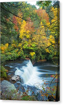 Above Hooker Falls Canvas Print by Andres Leon