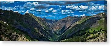 Canvas Print featuring the photograph Above It All by Don Schwartz