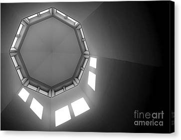 Above Canvas Print by Olivier Le Queinec