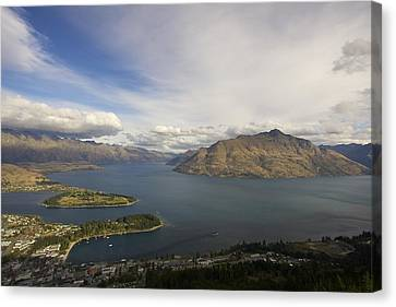 Above Queenstown #2 Canvas Print by Stuart Litoff