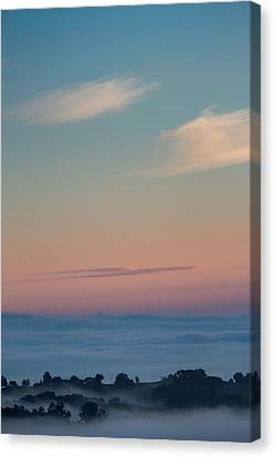Above The Clouds Canvas Print by Davorin Mance