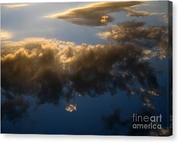 Canvas Print featuring the photograph Above The Clouds by Janice Westerberg