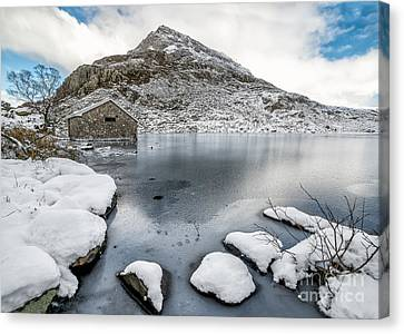 Above The Ice Canvas Print by Adrian Evans