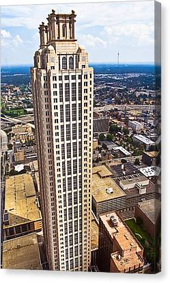 Above The Rest - Atlanta 191 Peachtree Canvas Print by Mark E Tisdale
