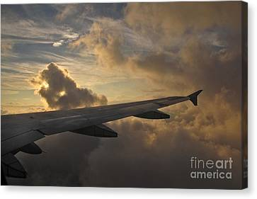 Canvas Print featuring the photograph Above The Weather by Inge Riis McDonald